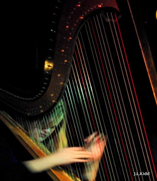 Mary Lattimore, Harpist